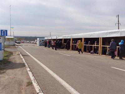 """Жах на КПВВ """"Майорськ"""" - з обох сторін біля 800 людей"""