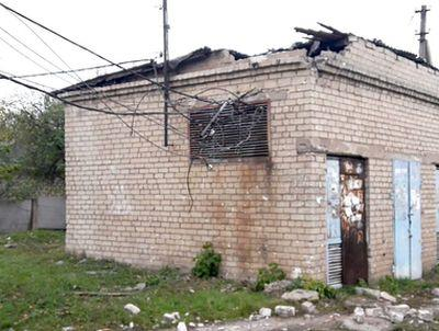 У Красногоровці міни та танкові снаряди розривалися поблизу лікарні та технікуму