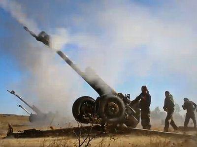 Луганський напрямок розстрілювали з артилерії