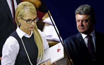 Порошенко против Тимошенко: социологи крупно поспорили насчет рейтингов