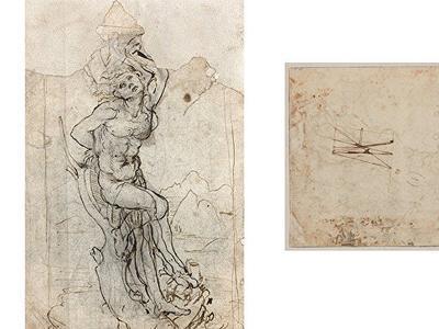 Рисунок Леонардо да Винчи стоимостью 15 миллионов евро нашелся у французского пенсионера