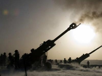 Война рядом - журналист  рассказал о работе российской артиллерии  под Донецком минувшей ночью