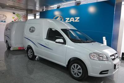 ЗАЗ начал производство нового фургона