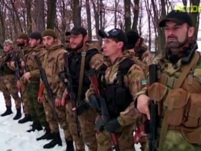 """На Донбасс для усмирения боевиков и запугивания местного населения  завезли """"кадыровцев"""""""