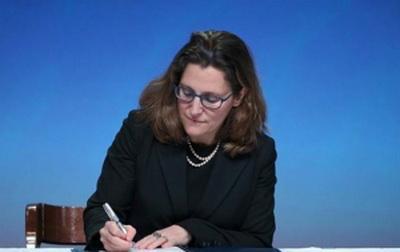 Новый министр иностранных дел Канады — наполовину украинка