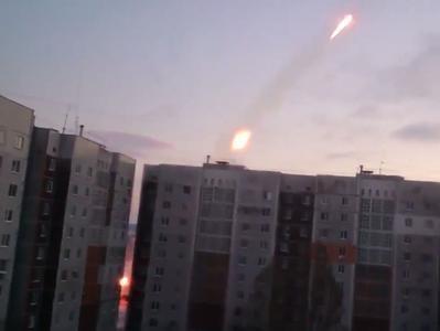"""За минувшие сутки в Авдеевку """"прилетело"""" около 100 снарядов """"Града"""", стреляли из жилых районов Донецка"""
