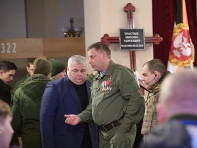 В Донецке прощаются с боевиком Гиви (ФОТО, ВИДЕО)