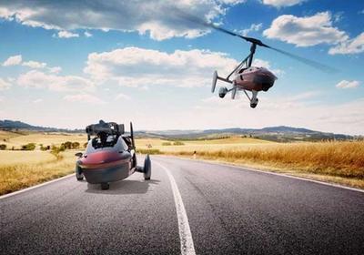 Летающий автомобиль впервые поступил в продажу (ВИДЕО)