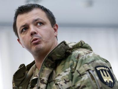 В Бахмуте между скандальным нардепом Семенченко и полицейскими произошел конфликт
