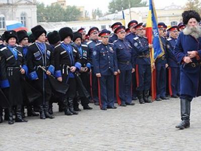 Российские казаки атамана Козицына  собирают сход и готовятся к походу на Донбасс