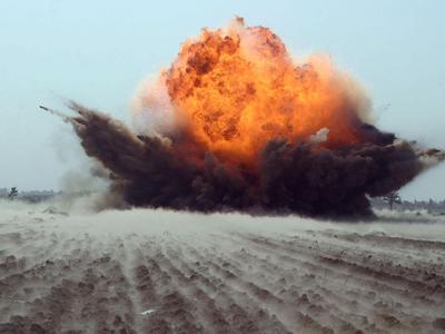 Мощная взрывная волна прокатилась по Донецку и Горловке