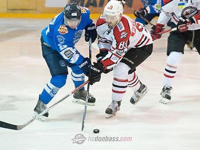 «Донбасс» одержал третью победу в полуфинале УХЛ
