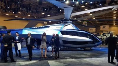 В США представили вертолет будущего (ВИДЕО)