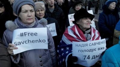 """На допросе в СБУ Савченко призналась, что стреляла вместе с боевиками """"ДНР"""""""