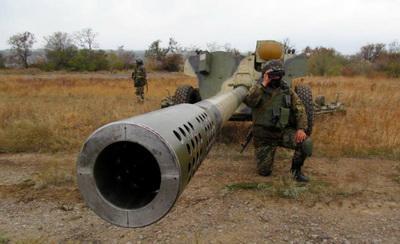 Российско-террористические войска дважды напали на позиции АТО: Водяное и Павлополь были атакованы из мощных артустановок
