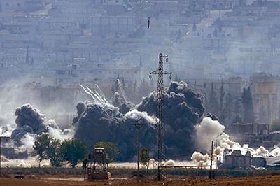 Война в Сирии: бои дошли до рубежей Дамаска
