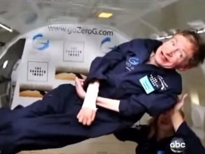 Стивену Хокингу предложили стать космонавтом