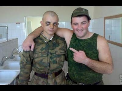 Крымских призывников посылают служить по всей России