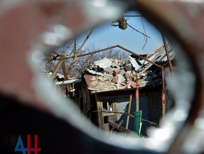 """""""Власти ДНР"""" обвинили ВСУ в повреждениях домов и газопровода в Ясиноватой"""