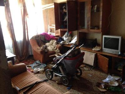 В Краматорске двухлетний мальчик выпал с балкона третьего этажа