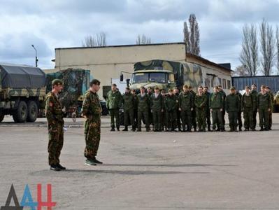 В оккупированной Макеевке соревновались за право носить оливковые береты
