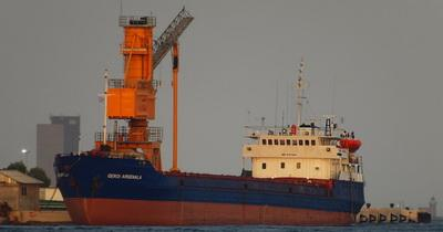 На борту затонувшего в Черном море сухогруза находились девять украинцев