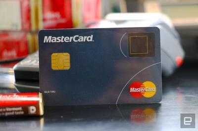 MasterCard выпустила карту со сканером отпечатков пальцев (ВИДЕО)