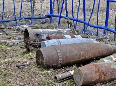 """На кладбищах """"ДНР"""" найдены взрывоопасные предметы"""
