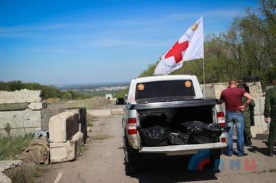 «ЛНР» передала тела троих военнослужащих ВСУ, погибших на Светлодарской дуге