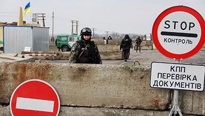 Украинского дезертира поймали на админгранице с Крымом (фото)