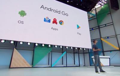 Google анонсировала операционную систему для смартфонов начального уровня