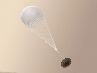 ЕКА завершило расследование крушения марсианского модуля Schiaparelli