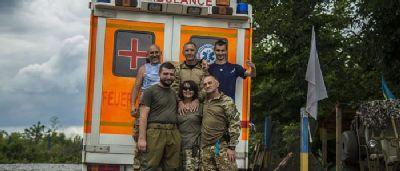 Как работают военные парамедики на Донбассе