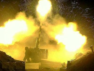 У Катериновки боевики нанесли несколько ударов из миномётов и ствольной артиллерии по нашим передовым позициям, - ИС