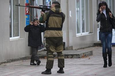 Боевики устраивают жесткие «собеседования» гражданам, не имеющими «регистрации» «днр», - ИС