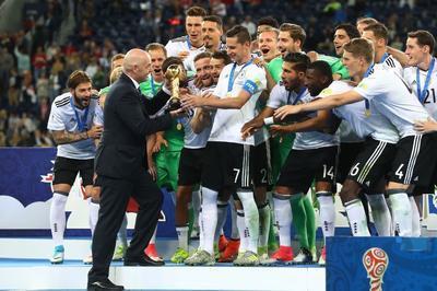 Сборная Германии впервые завоевала Кубок Конфедераций