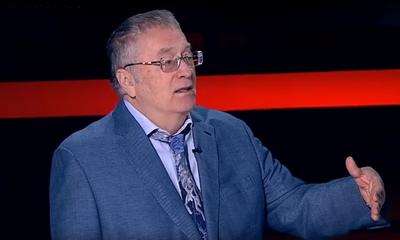 Жириновский истерично требует «приращения земель» за счет Украины. ВИДЕО