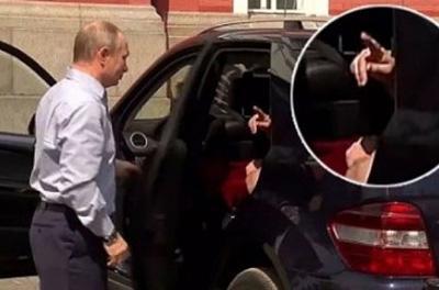 Путин и таинственный пассажир: на видео заметили любопытную деталь