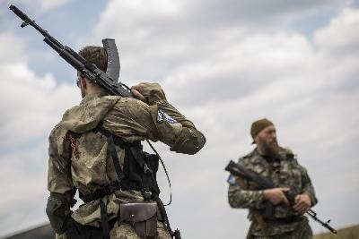 Боевики выжгли огнем украинский курорт.