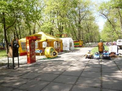 В Покровске начался первый этап многомиллионной реконструкции парка «Юбилейный»