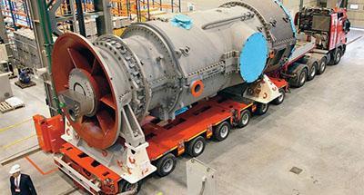 Вночі до Криму завезли ще три турбіни Siemens