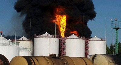 Під Києвом знову горіла нафтобаза
