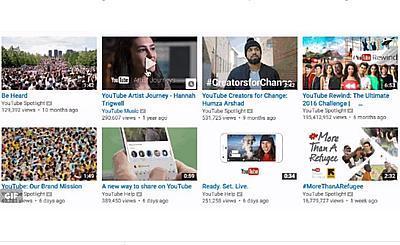 В YouTube появился предпросмотр видео