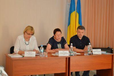 В Курахово состоялось заседание коллегии Главного управления пенсионного фонда в Донецкой области