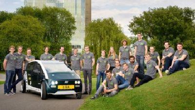 В Голландии построили биоразлагающийся электромобиль из свеклы и льна