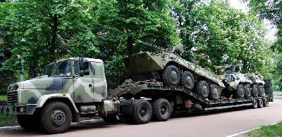 На Киевском бронетанковом заводе использовали некачественную сталь для изготовления корпусов бронетранспортеров