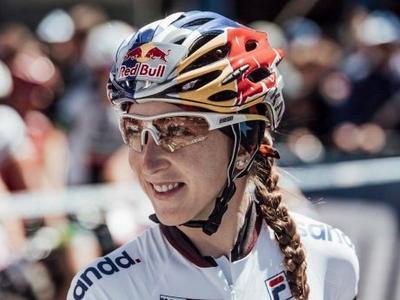 Украинская спортсменка завоевала Кубок Мира по маунтинбайку