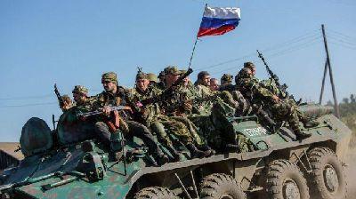 Российские военные покидают Донбасс и уничтожают документы