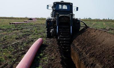 В Донецкой области начали строительство газопровода Очеретяное-Авдеевка