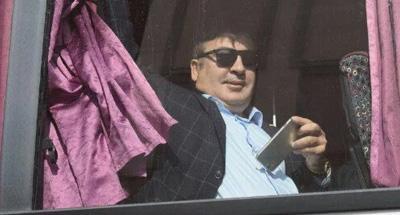Стало известно, когда Саакашвили прибудет в Киев